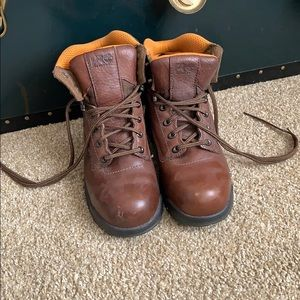 Timberland pro series work boots